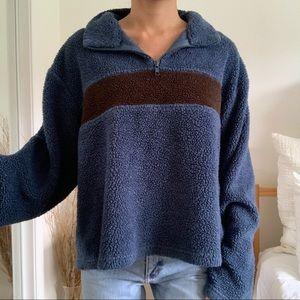 Vintage The Original Fleece Blue Sweatshirt